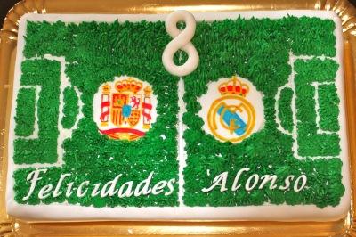 tarta decorada, tarta fútbol, tarta cumpleaños, tarta fondant