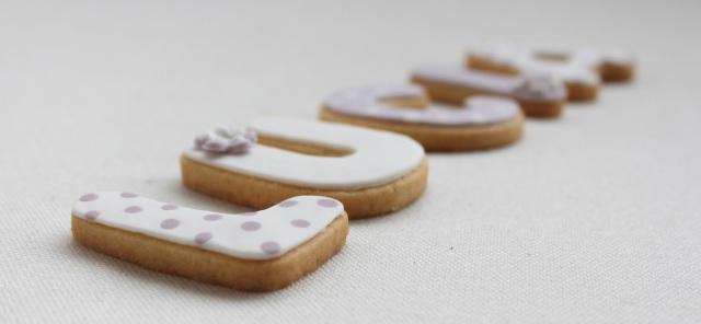galletas, galletas letras, galleta fondant, galleta nombre, galletas cumpleaños