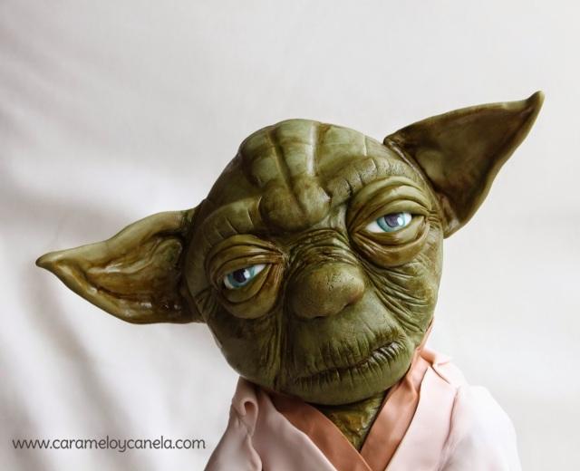star wars cake, cake, modeling, yoda, tarta maestro Yoda, tarta star wars, cumpleaños niño